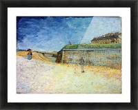 The Ramparts of Paris2 by Van Gogh Picture Frame print