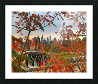 Autumn in New York  Picture Frame print
