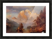 Rocky Mountains, 1866 Picture Frame print