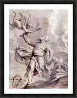 The sacrifice of Abraham by Rubens Picture Frame print