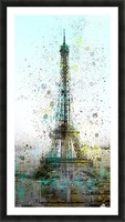City-Art PARIS Eiffel Tower II Picture Frame print