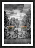 Gentlemens Canal AMSTERDAM Picture Frame print