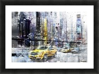 City-Art NYC Collage Picture Frame print