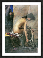 Susanna in Bath by Lovis Corinth Picture Frame print