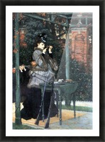 The shooting range by Tissot Picture Frame print