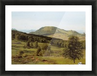 Landscape Hill and Dale Picture Frame print