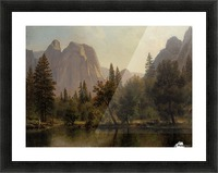 Among the Sierra Nevada, California, 1868 Picture Frame print