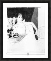 The Tea by Cassatt Picture Frame print