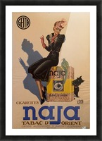 Advertisement Poster for Naja by Lelong, 1939 Picture Frame print