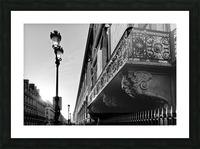 Rivoli balcony Impression et Cadre photo