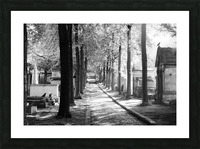 Pere-Lachaise keepers Impression et Cadre photo