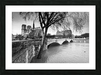 Seine river flood Impression et Cadre photo