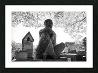 Pere-Lachaise statue Impression et Cadre photo