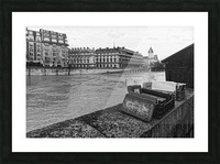 Paris quay Impression et Cadre photo