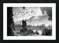 Daumesnil lake Impression et Cadre photo