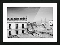 Roofs of Paris  Impression et Cadre photo