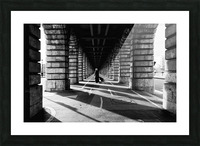 Bercy bridge Impression et Cadre photo