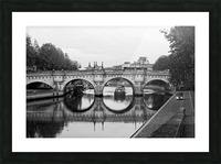 The barge Impression et Cadre photo