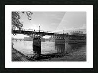 Pont des arts sunrise Impression et Cadre photo