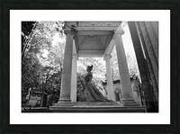 Graveyard lady Impression et Cadre photo