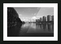 Flood reflection Impression et Cadre photo