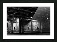 Brancion tunnel Impression et Cadre photo