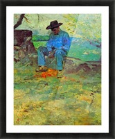 The Young Routy in Celeyran by Toulouse-Lautrec Picture Frame print