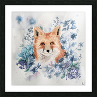 Fox Picture Frame print