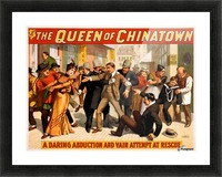 The Queen of Chinatown, 1899 Picture Frame print