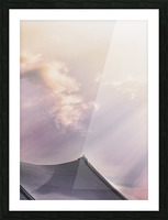 Top Of The Tent Picture Frame print