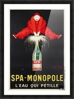 Spa-Monopole - Leau qui petille Picture Frame print