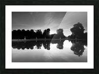 Tuileries reflection Impression et Cadre photo