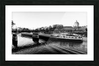 Under the Pont des Arts Impression et Cadre photo