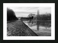 Ourcq canal Impression et Cadre photo