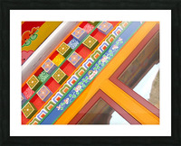 J.P.P. Eyes with Multicolored Hat Picture Frame print