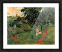 To and Fro by Gauguin Picture Frame print