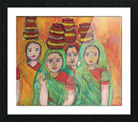 women  Picture Frame print