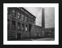 SMOKESTACK NUMBER ELEVEN Picture Frame print