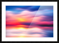 Abstract Movement XVIII Picture Frame print
