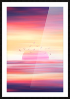 Abstract Movement XIX Picture Frame print