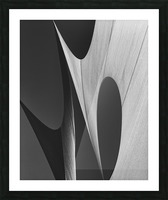 Abstract Sailcloth 11 Picture Frame print