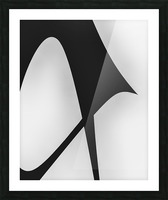 Abstract Sailcloth 5 Picture Frame print