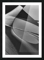 Abstract Sailcloth 13 Picture Frame print