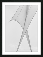 Abstract Sailcloth 3 Picture Frame print