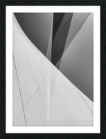 Abstract Sailcloth 2 Picture Frame print