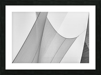 Abstract Sailcloth 8 Picture Frame print