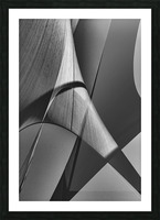 Abstract Sailcloth 16 Picture Frame print