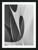 Abstract Sailcloth 10 Picture Frame print