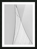 Abstract Sailcloth 18 Picture Frame print