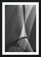 Abstract Sailcloth 17 Picture Frame print